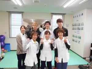 仙台長町で生活習慣病の改善ならPAOのお知らせ 仙台89ERSの石川選手、谷里選手がご来館されました!
