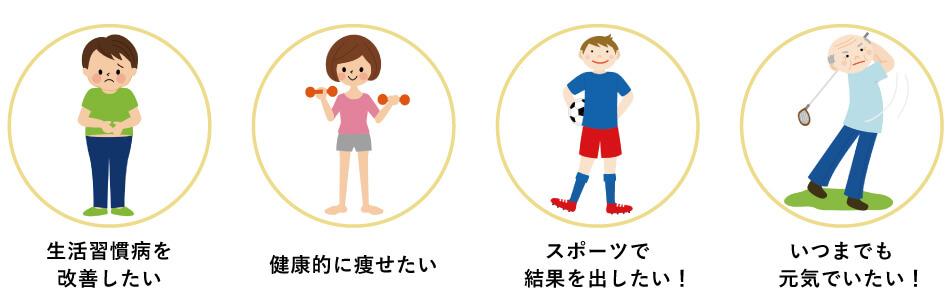 仙台長町のフィットネスジムで生活習慣病の予防と改善